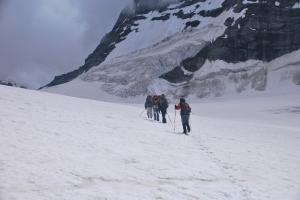 Navigating the Ice plateau