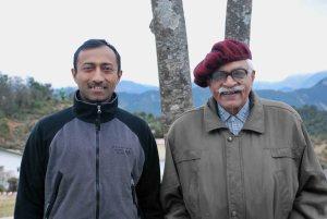 Satya and Col. (Retd) J P Bhatia, my uncle