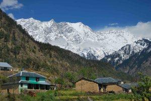 View From Mansingh's house, Kareri
